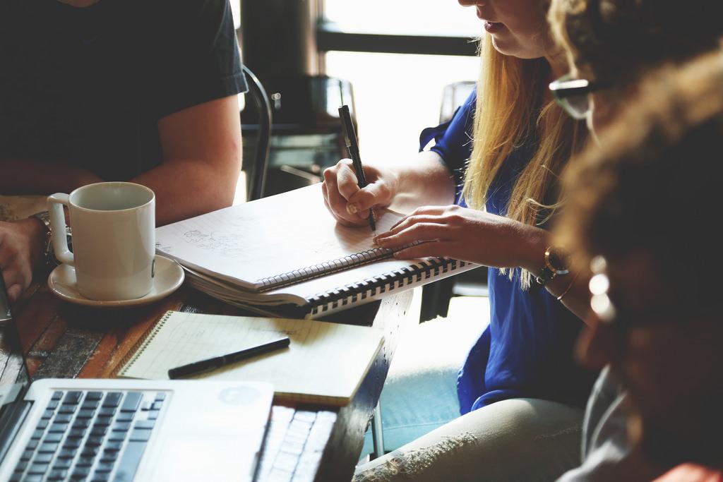 Reunión equipo Inbound Marketing