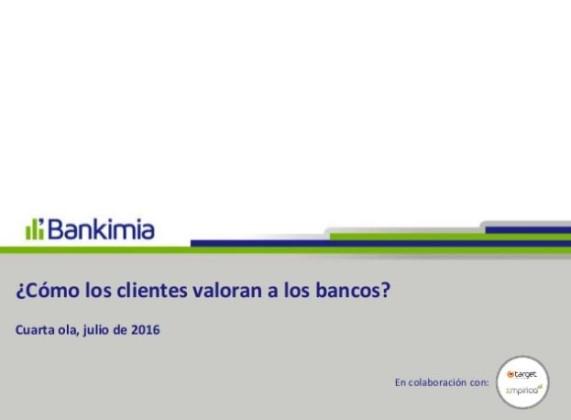 satisfacción bancos